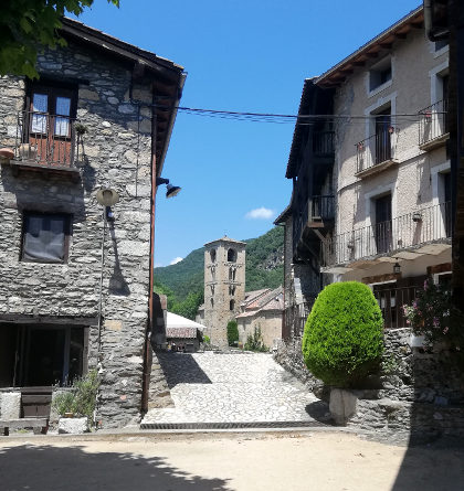 Beget from village square