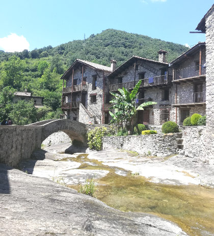 Beget stream and bridge
