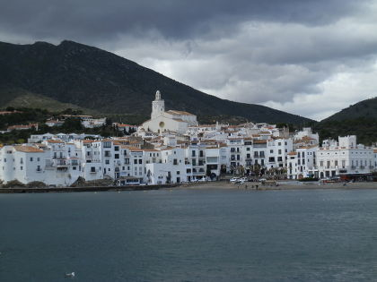 Cadaques view of the town from the Cami de Ronda - Costa Brava