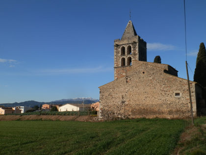 Sant Dalmai village church
