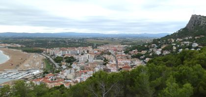 View over Estartit and down to Pals and Begur