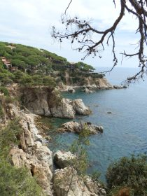 Cala Trons around the corner for Lloret
