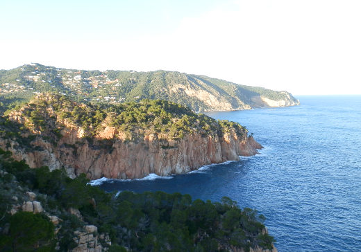 View to Fornells and Begur