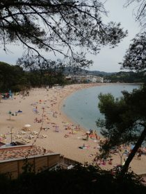 Fenals beach in Lloret de Mar